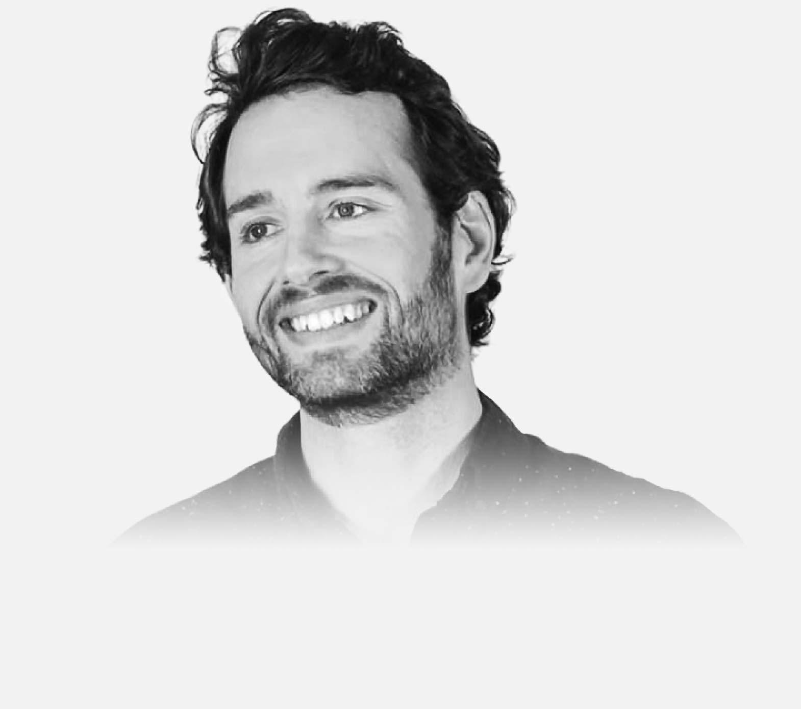 Portrait of Jon Aizlewood