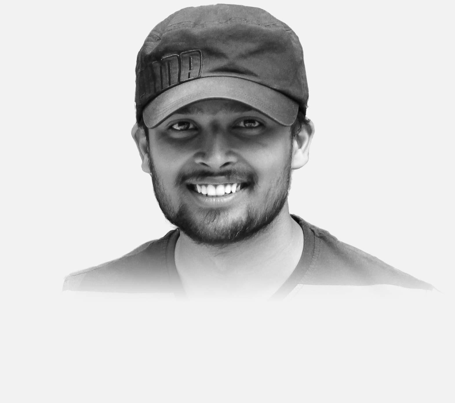 Portrait of Vamsee Krishna Kalangi